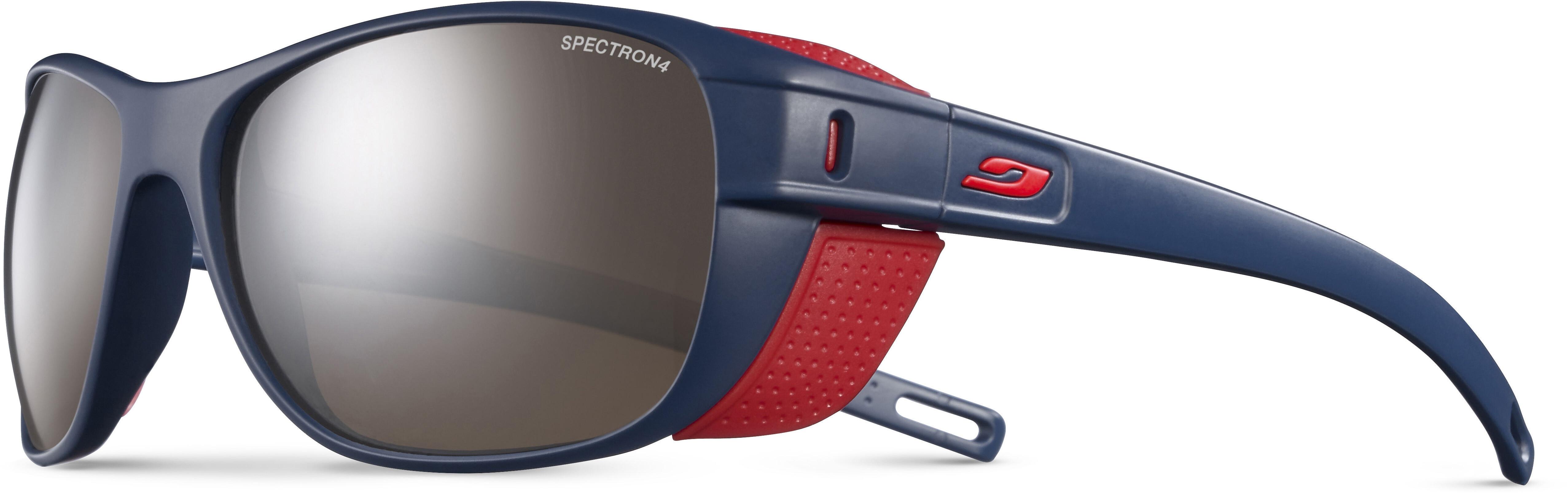 e992f75534 Julbo Camino Spectron 4 Sunglasses Dark Blue Red-Brown Flash Silver ...